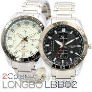 LONGBO メンズ 腕時計 LBB02