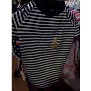セール☆大人気の格安犬服☆ 黒白しましまマリン半そでTシャツ