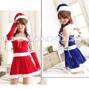 【即日出荷】2color サンタ衣装 クリスマス/コスプレ【9436/4】