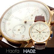 L'etoile レトワール  クロノグラフ搭載プレミアムモデル メンズ 腕時計 HA02