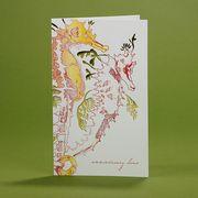 oblation papers&press 活版印刷カード menageric greetings アニバーサリー