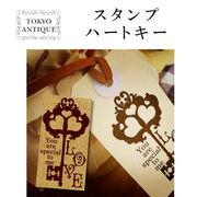 ■東京アンティーク■ ハートキー