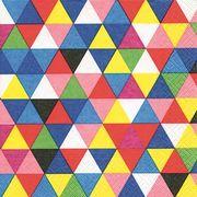 Paper+Design ミニペーパーナプキン トライアングルパターン