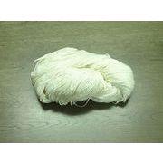 シルク粗糸(絹糸) Silk roving covered 晒