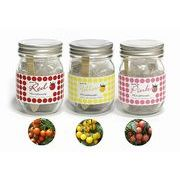 Garden Jar ガーデン・ジャー 3色トマト