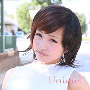【ユニガール】ワイルド系2トーンショートウィッグ『メイプルパッチショート』