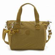 【代引不可】Kipling K15371-H21 2WAYミニボストンバッグ AMIEL Golden Brown/キプリング
