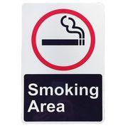 トラフィックサインボード SMOKING AREA