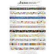 JUNO Masking tape Vol.1 ジュノ マスキングテープ 15mm×10m