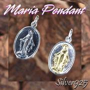 マリアペンダント-1 / 4006-4007--1822 ◆ Silver925 シルバー ペンダント マリア