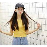 ベスト☆ブラック/イエロー2色☆mi1-t103-2061