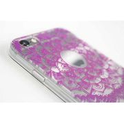 ボヘミアンiPhone6/6Sケース(エスニックパープル)