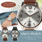 【L'etoile】ベゼルフチのカラーがアクセント 腕時計 CM12