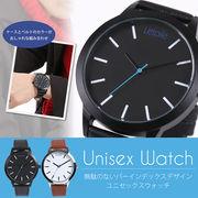 【L'etoile】飽きのこないシンプルなデザイン オンオフ問わない2色展開 腕時計 CM05