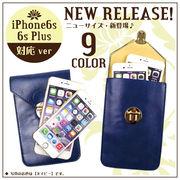 BFI-1463  10色 森ガール iPhone6s/6s Plus 対応 斜め掛け可能 スマホポーチ