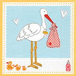 Paper+Design ペーパーナプキン ベビー×鳥