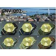 ★日本製ムーブで再入荷★ GENEVAユニセックス腕時計 NATOナイロンベルト 無地カラー