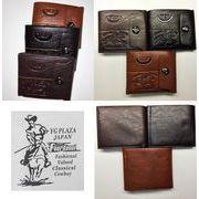 メンズ 高級牛革使用 機能性抜群 二つ折財布 YG PLAZA JAPAN