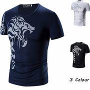 Tシャツ 半袖 クルーネック カットソー 3色 大きいサイズ 100859