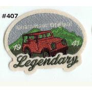 Legendary JEEP ワッペン