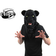 ELOPE Mouth Mover Black Panther Mask   13926
