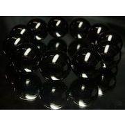 大玉20mm(20ミリ)!黒瑪瑙ブラックオニキス天然石数珠ブレスレット