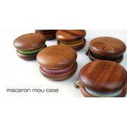 【木製雑貨】macaron mou case 木の小物入れ