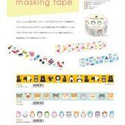 MIND WAVE マスキングテープ  日本製 15mm*7m masking tape