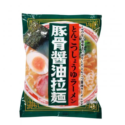豚骨醤油拉麺1食