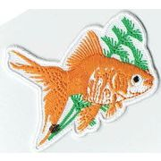 ワッペン(金魚)