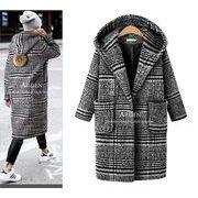 【大きいサイズXL-5XL】【秋冬新作】ファッションコート