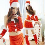 【即日出荷】足カバー サンタコスチューム クリスマス コスプレ衣装【9424】