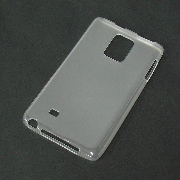 【SC-01G/TPU】docomo GalaxyNoteEdge(ギャラクシーノートエッジ) クリア (乳白色)ソフトタイプTPU素材