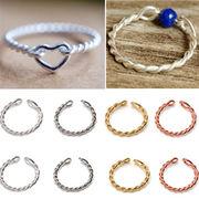 BLHW147386◆5000以上【送料無料】◆DIY 手作り 純銀シルバーリング金具 指輪パーツ