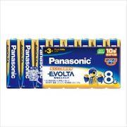 パナソニック アルカリ乾電池 エボルタ 単3形*8P LR6EJ/8SW 【 パナソニック 】 【 乾電池 】