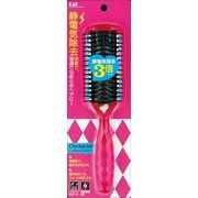 KQ1170 KQ 静電防止スタイリングブラシL(ルビーピンク) 【 貝印 】 【 ブラシ 】