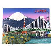 お土産JAPANマグネット 日本夜景 《外国人観光客向け日本土産》