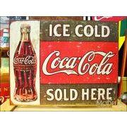 アメリカンブリキ看板 コカ・コーラ 1916年代看板