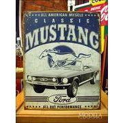アメリカンブリキ看板 フォード クラシックマスタング