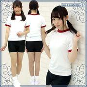■送料無料■スパッツ体操服セット 色:黒 サイズ:M/BIG
