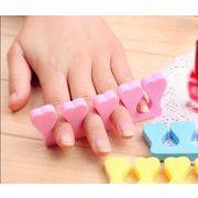 diyネールツール用品 スポンジ分趾洞器 分を指し 足の指の分離器