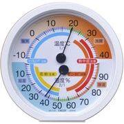 クレセル 快適環境温湿度計