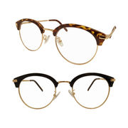 【TY2921】大人気!!ブロー×ラウンド★オシャレ伊達メガネ♪♪ ブローライン/眼鏡/丸メガネ/まんまる