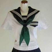 三角型スカーフ 緑