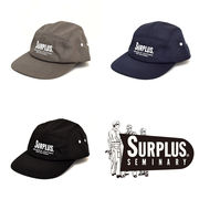 【2017春夏】『SURPLUS』ツイル ロゴ刺繍入り ジェットキャップ