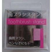 3-06歯ブラシスタンドクリアグレー 【 ライフレンジ 】 【 デンタル用品 】