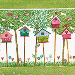 Paper+Design ペーパーナプキン バードハウス