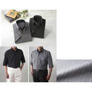 FC二重衿5分袖ドレスシャツ2枚組