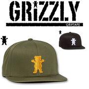 Grizzly Griptape OG BEAR STRAP BACK  15481