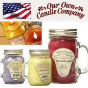 Mason Jar Candles メイソン ジャー 入り ソイキャンドル L(ラージサイズ) グラスキャンドル